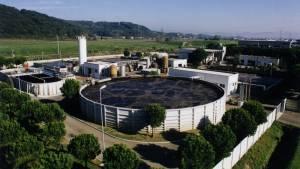 Industrial wastewater treatement plant